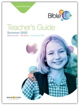 Bible-in-Life: Upper Elementary Teacher's Guide, Summer 2020