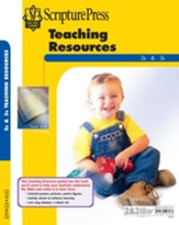 Scipture Press: 2s & 3s Teaching Resources, Summer 2018