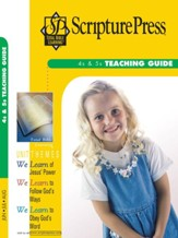 Scipture Press: 4s & 5s Teaching Guide, Summer 2018
