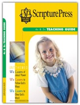 Scripture Press: 4s & 5s Teaching Guide, Summer 2020