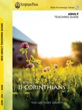 Scipture Press: Bible Knowledge Adult Teaching Guide, Summer 2018