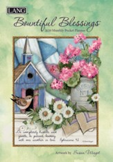 2020 Bountiful Blessings Monthly Pocket Planner