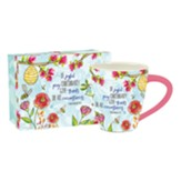 Pray Joyfully Cafe Mug