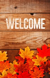 Welcome Fall Leaves Bulletins, 100