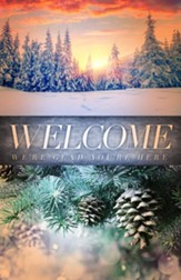 Welcome Creation Winter Bulletins, 100