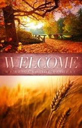 Welcome Creation Fall Bulletins, 100