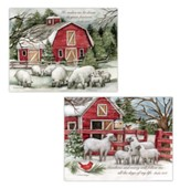 The Lord Is My Shepherd Assorted Christmas Cards, Box of 12
