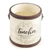 Teacher the Kindness You Have Shown Has Touched My Life Candle