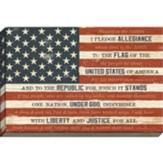 I Pledge Allegiance, Flag Canvas Art