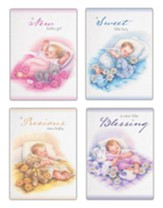 Little Blessings Baby Cards, Box of 12