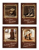 Down Home Birthday Cards, Box of 12