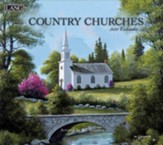 2021 Country Churches Wall Calendar
