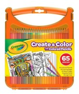Color & Create Colored Pencil Kit