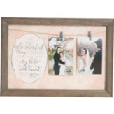 Most Wonderful Thing Photo Plaque