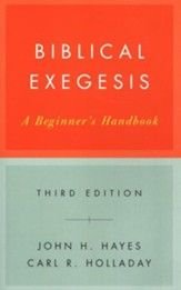 Biblical Exegesis, 3rd ed - eBook