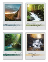 Waterfalls Get Well Cards, Box of 12