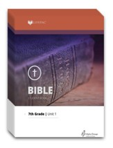 Lifepac Bible, Grade 7, Workbook Set