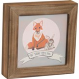Be Brave Box Plaque