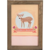 Oh Deer Wall Plaque