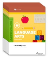 Lifepac Language Arts, Grade 1,  Workbook Set