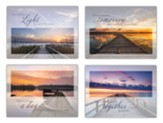Light at the River Sympathy Cards, Box of 12