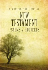 NIV New Testament with Pslams and Proverbs, Pocket-Sized,  Paperback