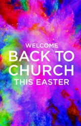 Back to Church Easter Bulletins, 100