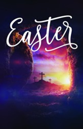 Dramatic Tomb Easter Bulletins, 100