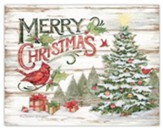 Merry Christmas, Pine Forest Cards, Box of 18