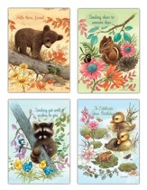 Nature's Friends Children's Assorted Cards, Box of 12