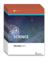 Lifepac Science, Grade 10 (Biology),  Workbook Set