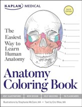 Kaplan Anatomy Coloring Book, Sixth  Edition