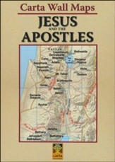 Jesus and the Apostles: Carta Wall Maps