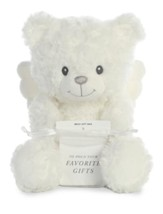 Little Angel Bear, White, Medium