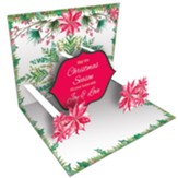 Lovely Christmas, Pop Up Christmas Cards, Box of 8