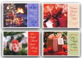 Pretty Packages Christmas Cards, Box of 12