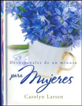 Devocionales de un minuto para mujeres, tapa dura  (One Minute Devotions for Women, Hardcover)