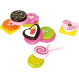 Wooden Sweets Playset