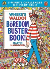 Where's Waldo? The Boredom Buster Book! 5 Minute Challenges