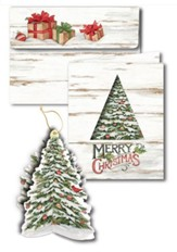 Merry Christmas, Box of 3D Ornament Cards