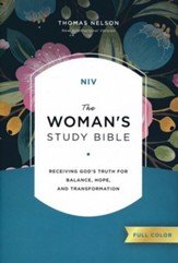 NIV The Woman's Study Bible, Hardcover, Full-Color