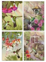 Hummingbirds Get Well Cards, Box of 12