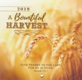 2019 Bountiful Harvest Mini Wall Calendar