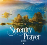 2019 Serenity Prayer Wall Calendar