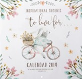 2019 Inspirational Moments to Live For Wall Calendar