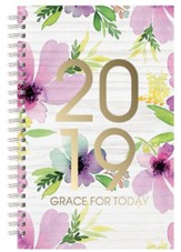 2019 Grace For Today Wirebound Daily Planner