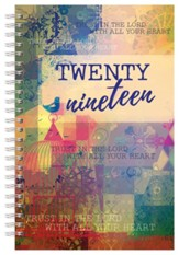2019 Trust in the Lord Wirebound Daily Planner