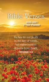 2020 Bible Verses 2-Year Pocket Planner