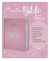 ESV My Creative Bible for Girls, Hardcover, LuxLeather, Pink