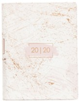 2020 Grace and Glory Planner, Rose Gold with Zipper Closure